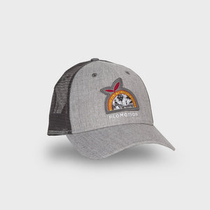Flomotion Florida Flag Hat - Black  / Grey SURF WORLD
