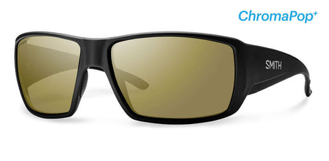 Smith Guide's Choice Matte Black Bronze Mirror Chromapop Polarized Sunglasses - SURF WORLD