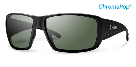 Smith Guide's Choice Matte Black ChromaPop Polarized Gray Green Sunglasses - SURF WORLD Fort Lauderdale Florida