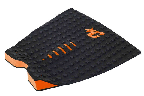 Creatures Of Leisure Mick Fanning Black Orange Surf Traction Pad - SURF WORLD Florida