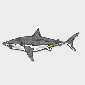 Flomotion Great White Sticker