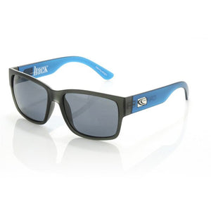 Carve Hack Polarized Sunglasses - Matte Grey Blue Grey