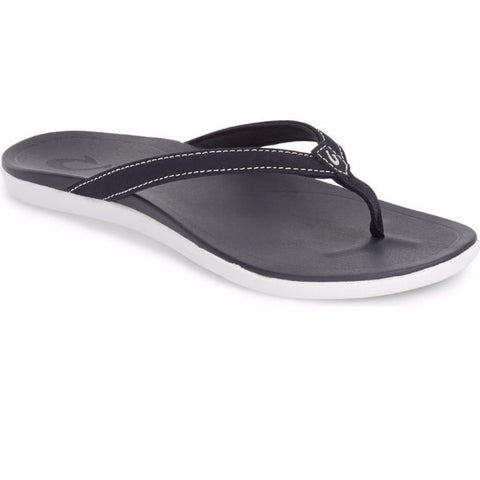 Olukai Ho'opio Womens Sandals -  Trench Blue - SURF WORLD Fort Lauderdale Florida