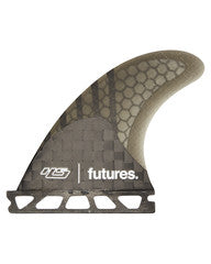 FUTURES HS3 Hayden V2 HC THRUSTER- CARBON/SMOKE/BLK/WHT MARBLE XS 248543700 - SURF WORLD Fort Lauderdale Florida