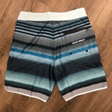 Surf World Gulf Stream Boardshort -The Surf World Collection - Blue Teal