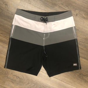 Surf World Triple Tail Boardshorts -  The Surf World Collection - Black