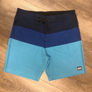 Surf World Triple Tail Boardshorts -  The Surf World Collection - Navy