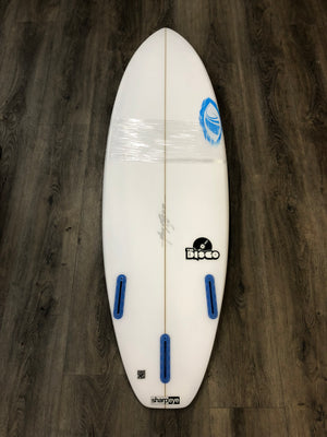 "Sharp Eye Disco Surfboard - 5'11"" x 19.5 x 2.6 x 31.5 L SURF WORLD"