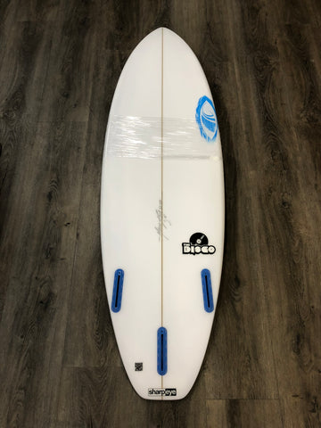 "Sharp Eye Disco Surfboard - 5'11"" x 19.5 x 2.6 x 31.5 L"