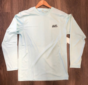 Surf World Long Sleeve Sun Shirt UPF 50 - Mint