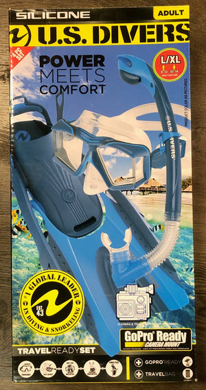 US Divers Lux Snorkel Set