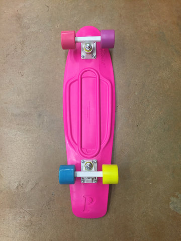 "PENNY 27"" NICKEL COMPLETE PINK/PUR/YEl 1CPEN0127N12PUY - SURF WORLD Fort Lauderdale Florida"
