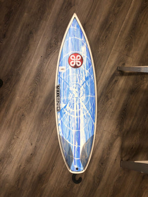 Viking Surfboards 5'4 Grom Epoxy Color