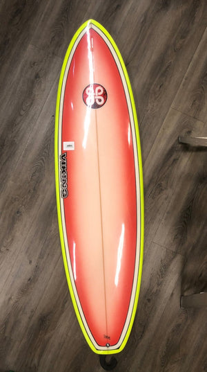 Viking Surfboards 6'6 Thruster Clark