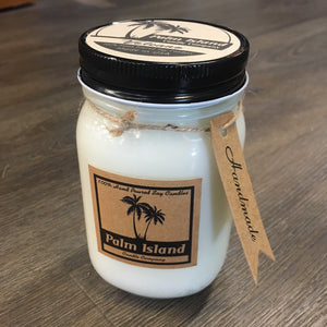 Palm Island Candle Company Volcano Candle - 16oz - 8oz SURF WORLD