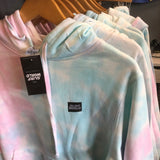 Surfworld Tiedye Pullover Hoodie - Cotton Candy