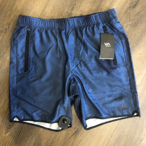 RVCA Yogger IV Mens Shorts - Bro6 Blue