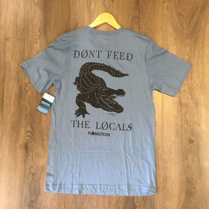 Flomotion Locals 2.0 Tee - Steel Blue SURF WORLD