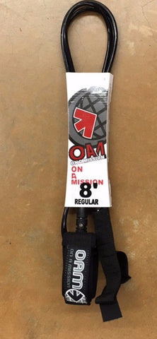 OAM 8' Regular Black - SURF WORLD Fort Lauderdale Florida