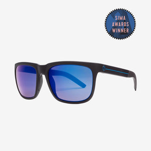 Electric Knoxville S JJF Polarized Pro Sunglasses - Black Blue Lense