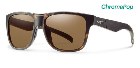Smith Lowdown XL ChromaPop Matte Tortoise Polarized Brown Lens Sunglasses - SURF WORLD Florida