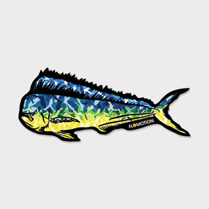 Flomotion Mahi Mahi Sticker