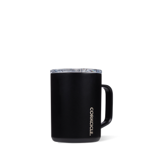 Corkcicle Triple Insulated Coffee Cup 16oz Cup - Matte Black SURF WORLD