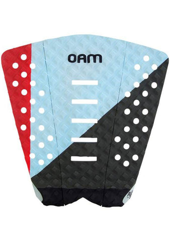 OAM On A Mission Cory Lopez Traction Pad - Red - SURF WORLD Florida