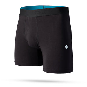 Stance Standard 6in Cotton Blend Mens Underwear - Black