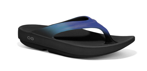 Oofos OOlala Womens Sandals Recovery Footwear - Blue Jay - SURF WORLD Florida