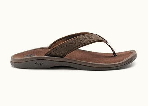 Olukai Women's Ohana Sandal - Dark Java/ Dark Java - SURF WORLD Fort Lauderdale Florida