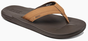 Reef Contoured Cushion Mens Sandals Memory Foam - Black or Brown SURF WORLD