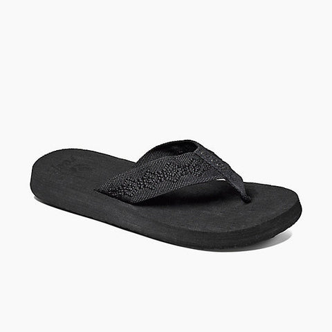 Reef Sandy Women's Sandals Black Black 1541 - SURF WORLD Florida