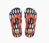 Reef Kids Ahi Sandals - Red Surfer