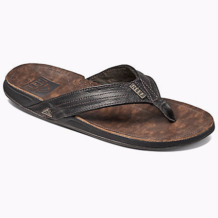 Reef J-Bay III Leather Dark Brown Sandal - SURF WORLD  - 1
