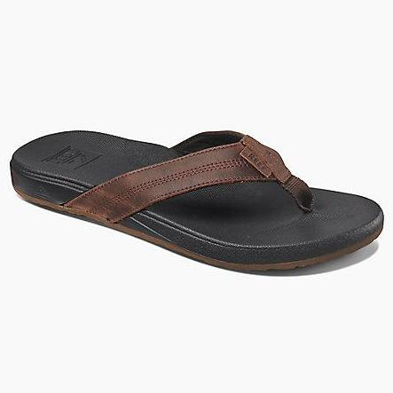 Reef Cushion Bounce Phantom LE Mens Sandals - Black Brown