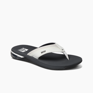 Reef Anchor Sandals - Grey White