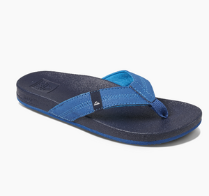 Reef Kids Cushion Bounce Sandals - Navy