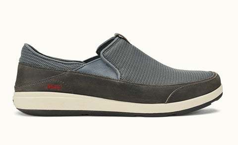 Olukai Makia Men's Shoes - Charcoal Charcoal