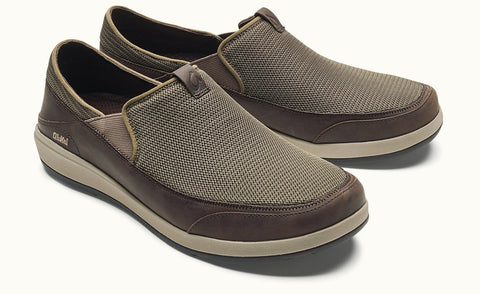 Olukai Makia Men's Shoes - Mustang Dark Wood