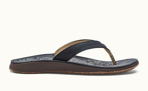 Olukai Women's Sandals Paniolo - Trench Blue - SURF WORLD Fort Lauderdale Florida