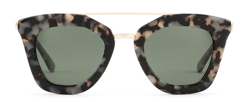 Otis Saint Lo Sunglasses - Black Tort/ Grey Polar