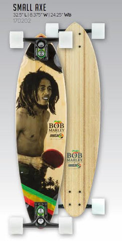 "Sector 9 Bob Marley Edition Small Axe 17 Complete 32.5"" X 8.375"" - SURF WORLD Fort Lauderdale Florida"