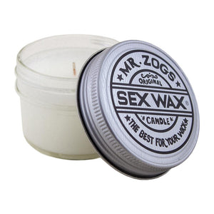 Mr. Zogs Sex Wax Coconut Scent Candle 4oz  Free Shipping