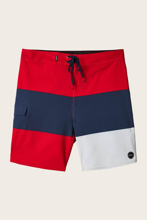 Oneill Hyperfreak Blockade Boardshorts - Red