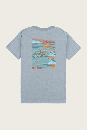 Oneill Set Trippin Mens T Shirt - Light Indigo