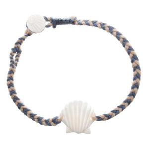 Wanderer Bracelet Scallop Shell- Ocean SURF WORLD