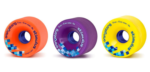 Orangatang Stimulus 70MM 80a Skateboard Wheels - Orange - SURF WORLD Fort Lauderdale Florida