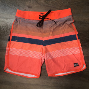 Sunset Grove Boardshorts -  The Surf World Collection - Orange Spice