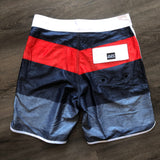 Surf World Ocean Mile Boardshorts - The Surf World Collection - Navy Teal